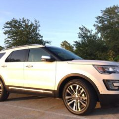 2016 Ford-Explorer Platinum