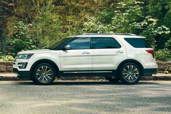 2017 Ford Explorer 4wd