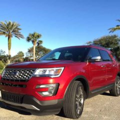 2017 Ford Explorer Platinum 4WD
