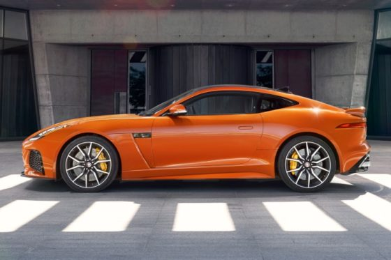 2017 jaguar f type coupe svr