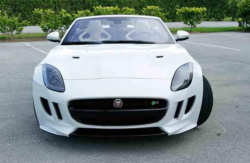 2017 Jaguar F Type R Convertible