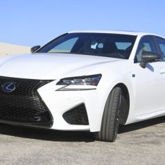 2017 Lexus 9335A GS F Sedan