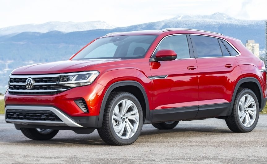 the 2020 Volkwagen Atlas Cross Sport 2.0 SEL 4MOTION