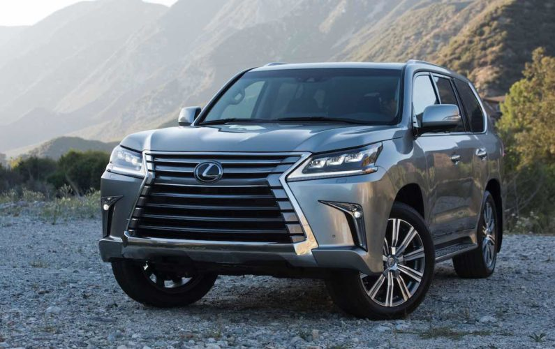 Lexus LX 570 Luxury High-End Crossover