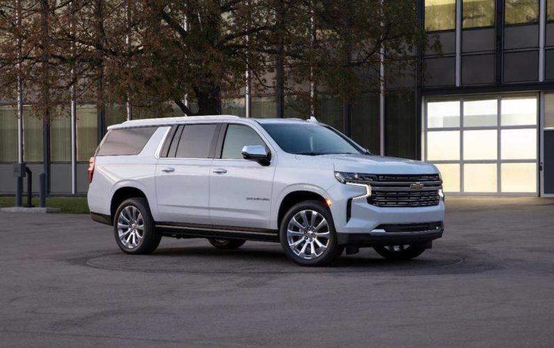 Chevrolet Suburban del 2021, simplemente imponente.