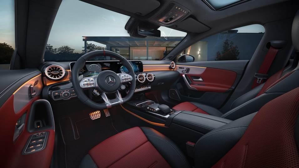 2021 AMG CLA 45 Coupe