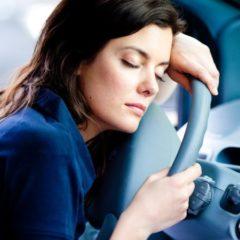 dormirse conduciendo