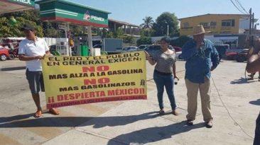 gasolina en mexico