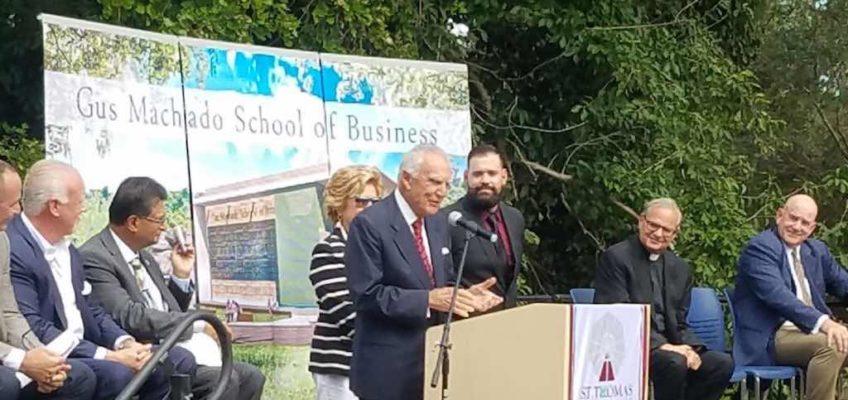 Gus Machado School Business