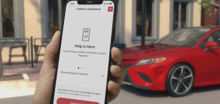 Toyota Debuts Mobile Collision