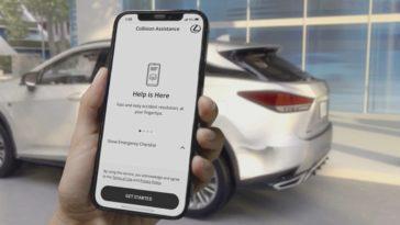 Lexus Debuts Mobile Collision Assistance