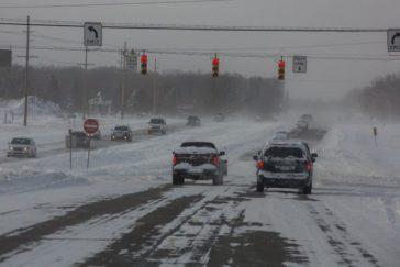 manejar en la nieve