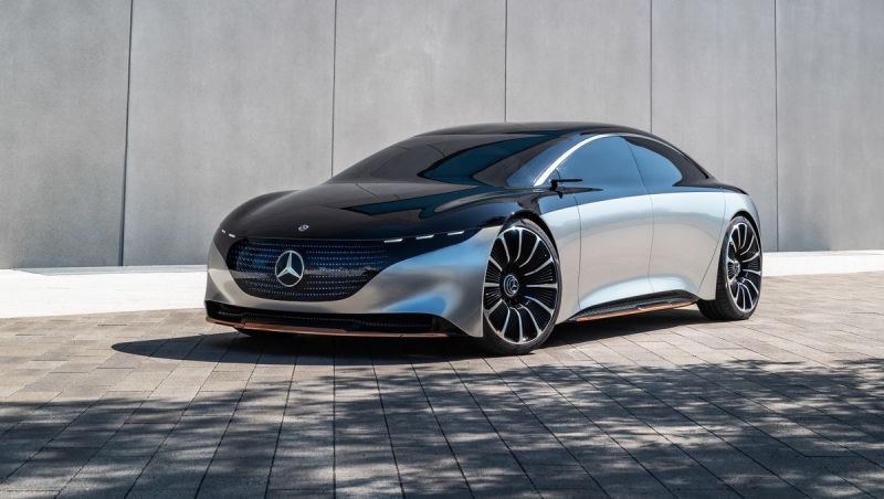 Mercedes-Benz announced eight new electric cars by 2022