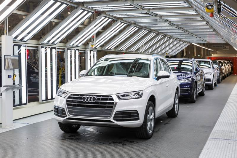 mexico montage assembly audi q5