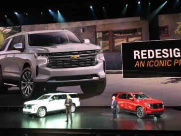 2021 Chevrolet Tahoe y Suburban