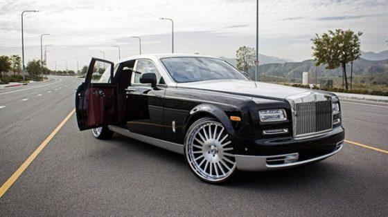 rr phantom trump car
