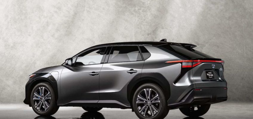 Toyota Debuts All-Electric SUV